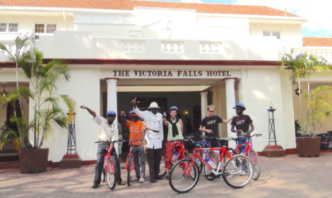 Victoria Falls, Short Cycle Trip