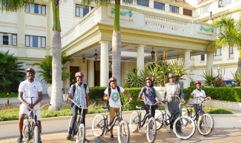 Maputo, Short Cycle, Promenade & Downtown